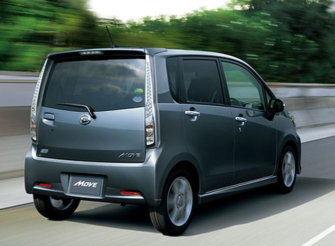 Daihatsu Move.