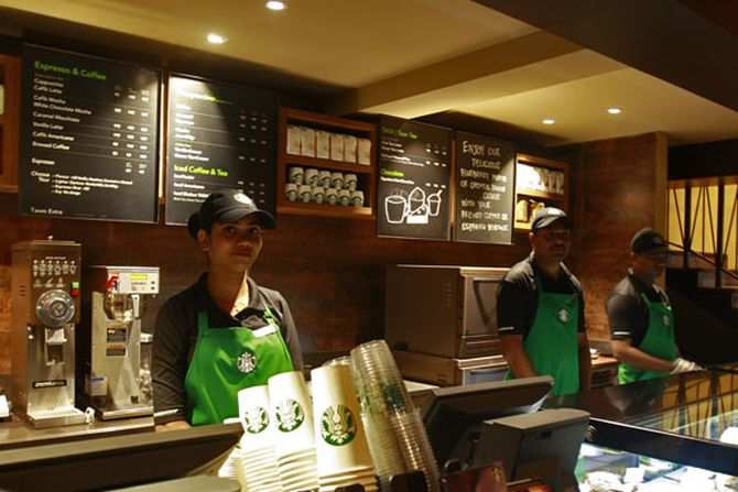 Tata Global's tie up with Starbucks has helped it to expand presence