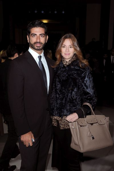 (L-R) Fahd Hariri and Maya Harir.