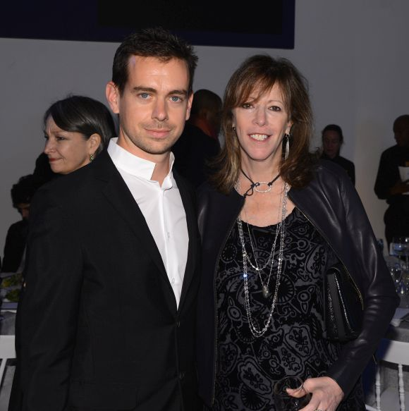 Creator of Twitter and founder and CEO of Square Jack Dorsey and Jane Rosenthal attend WSJ. Magazine's 'Innovator Of The Year' Awards.