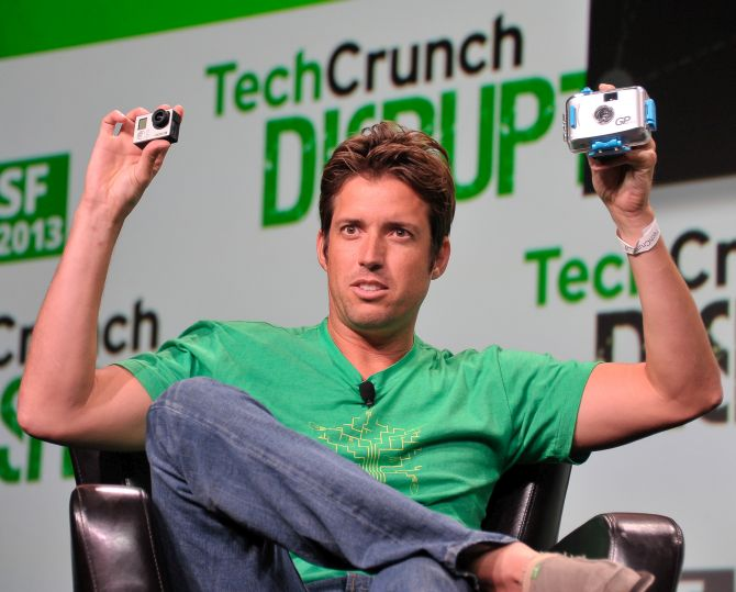 Nicholas Woodman of GoPro attends Day 3 of TechCrunch Disrupt SF 2013 at San Francisco Design Center.