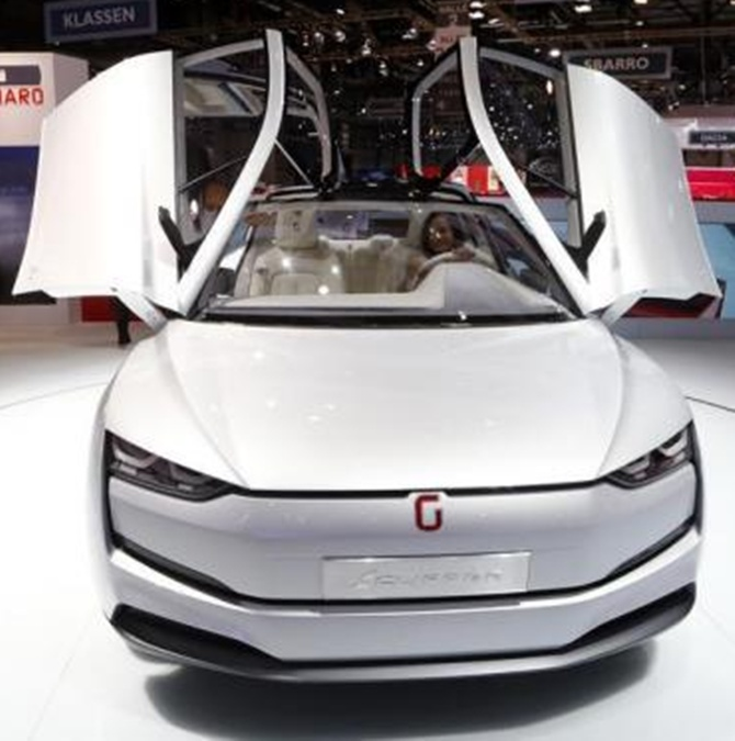 Giugiaro Clipper concept car