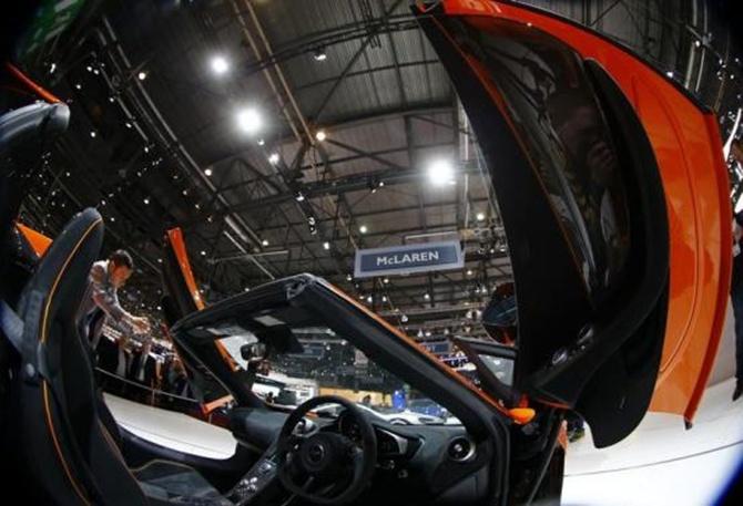 McLaren 650S convertible