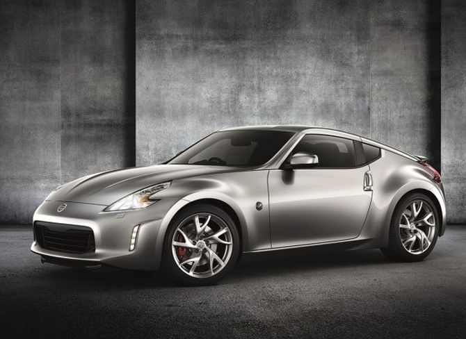Nissan 370Z Coupe.