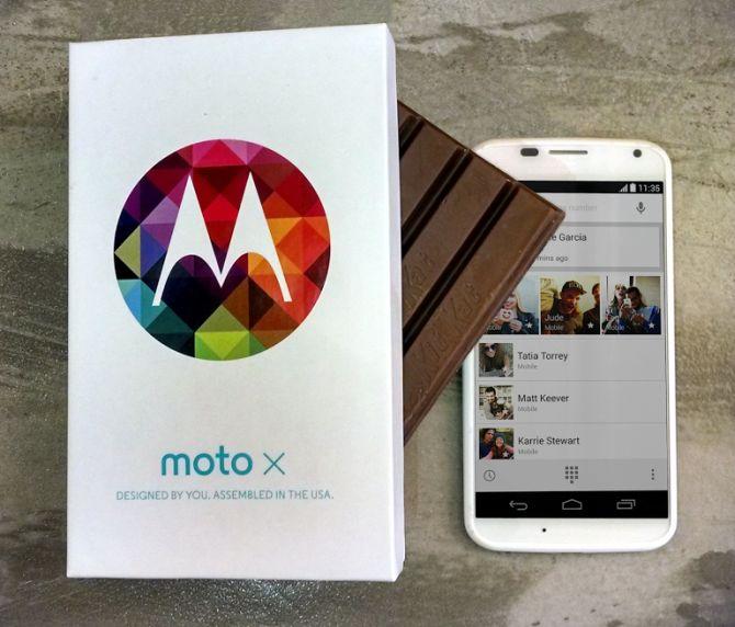 Moto X.