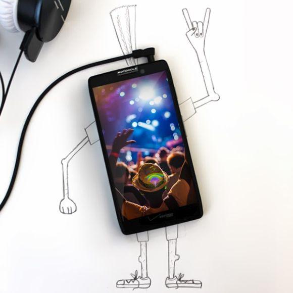 Moto X smartphone.