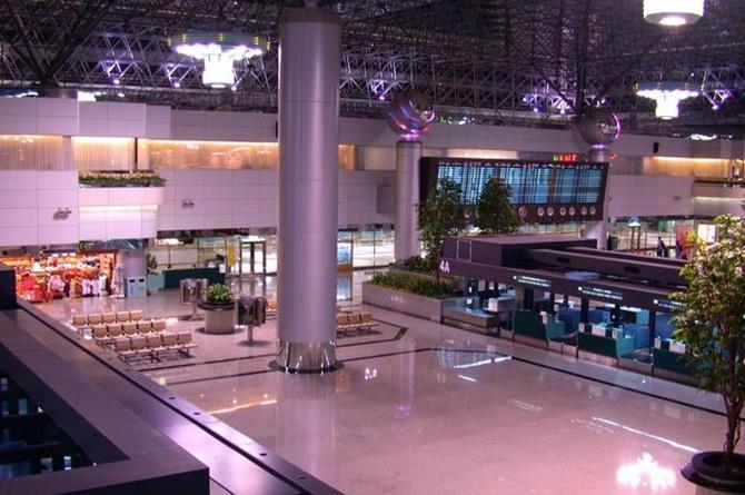 Taiwan Taoyuan airport.