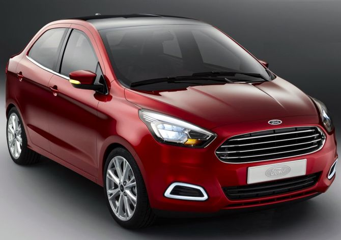Ford Figo Concept sedan.