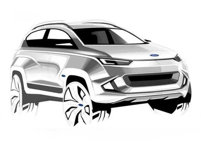 One of the winners of Ford 2022 EcoSport Design Contest.