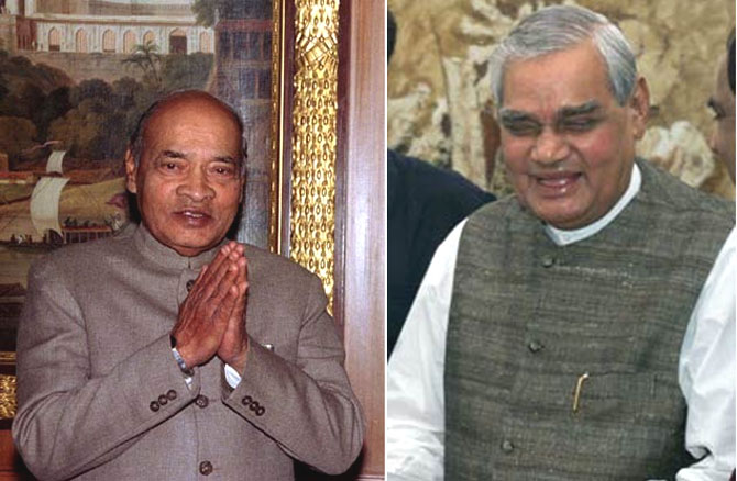 Economic reforms started by then prime minister P V Narasimha Rao, left, was continued under then prime minister Atal Bih