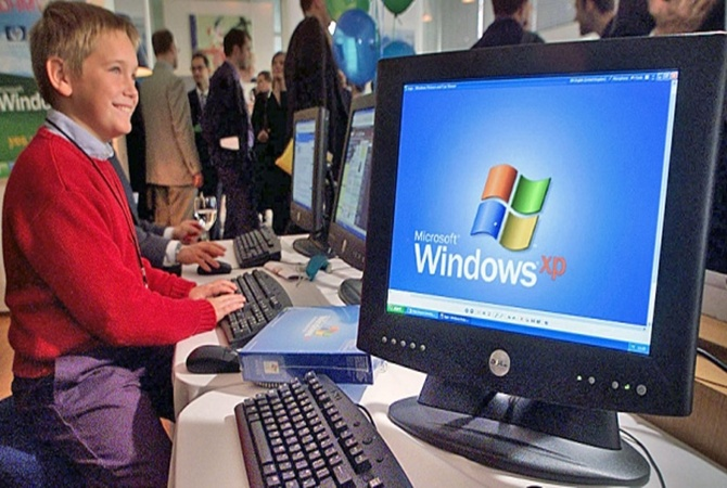 Microsoft to end support for Windows XP on April 8.