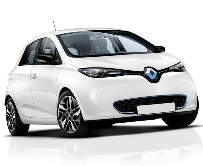 Renault's electric hatch.
