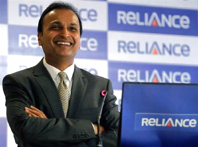 Anil Ambani's Reliance Capital figured in the list of 25 applicants.