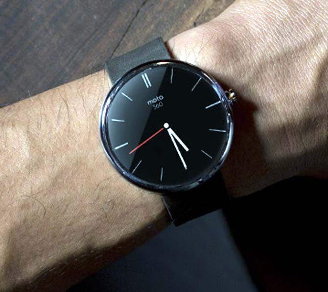 Coming soon: An Android smartwatch from Google!