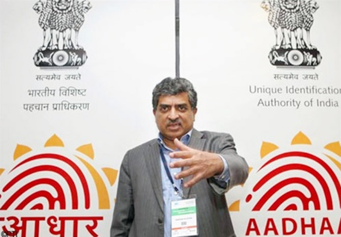 Nandan Nilekani, former head of Unique Identification Authority.