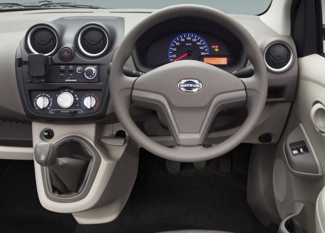 Datsun GO interior.