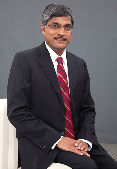 Chandrashekar Kakal, operational head of the India business unit, Infosys.