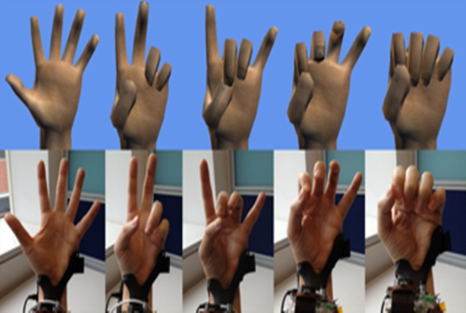 Technology will allow users to control a screen with their fingers.