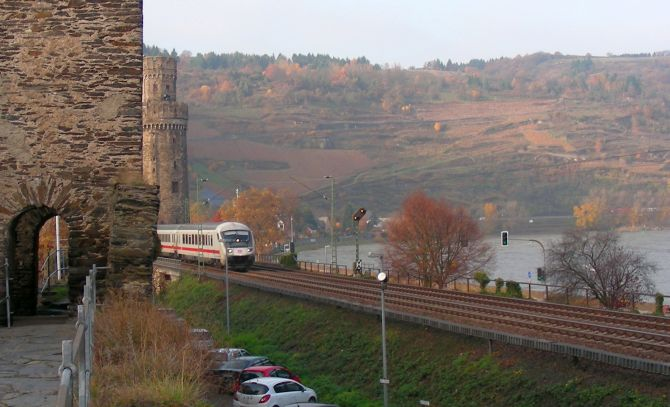 Rhine Valley Line at Rhenish Massif.