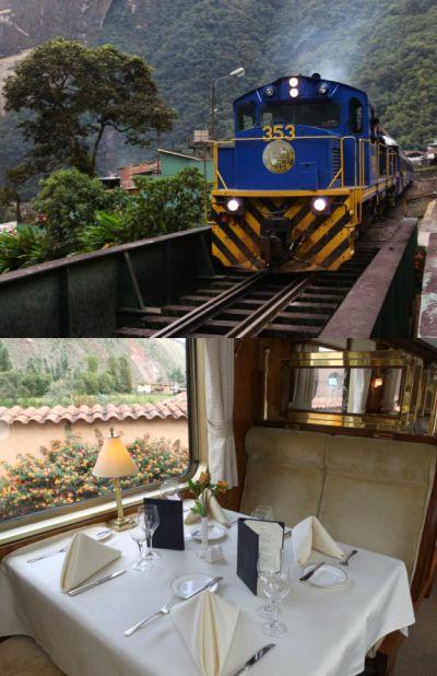 Hiram Bingham Orient-Express.