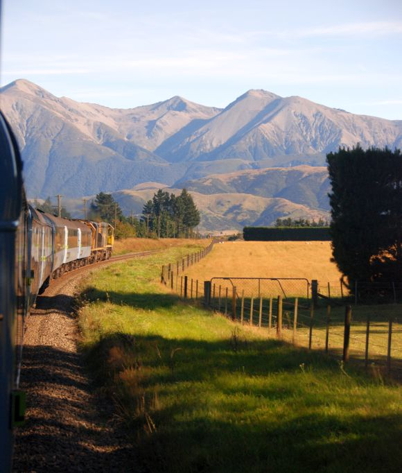 Tranzalpine from Christchurch To Greymouth.