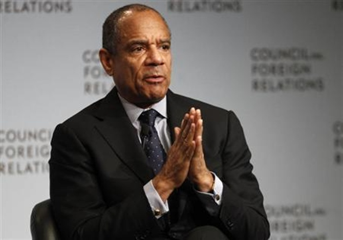 Chairman and CEO of American Express Company Kenneth Chenault.