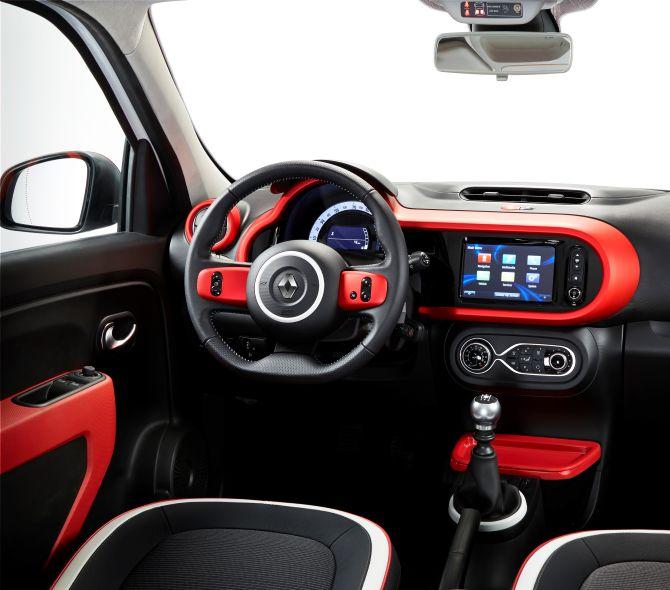 Renault Twingo interior.