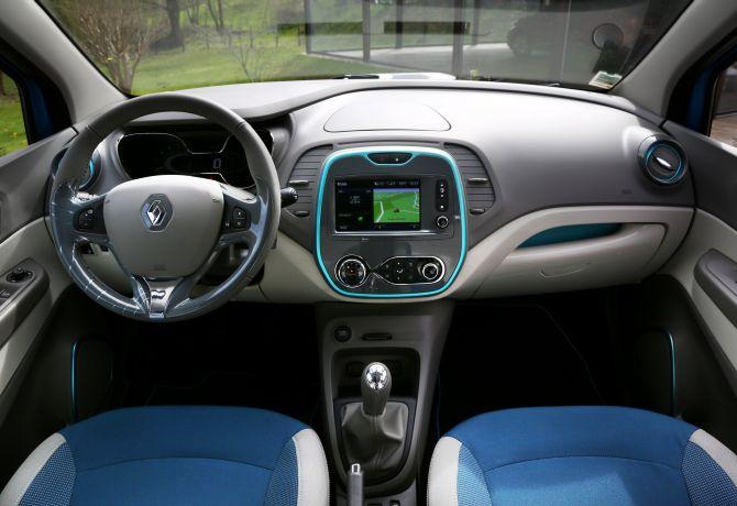 Renault Captur interior.