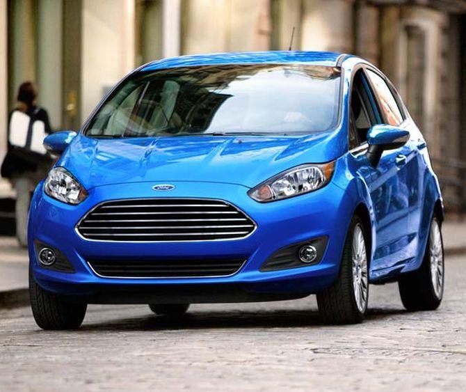 Ford Fiesta hatch.