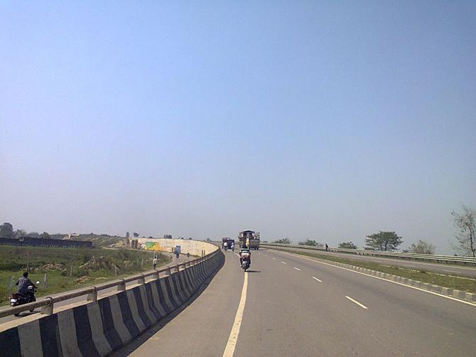 NH 28 near Basti, Uttar Pradesh