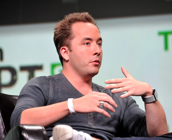 Drew Houston of Dropbox attends TechCruch Disrupt SF 2013.