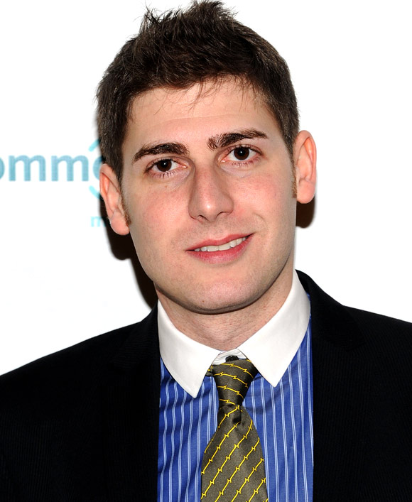 Eduardo Saverin, co-founder of Facebook attends a award function in New York City.
