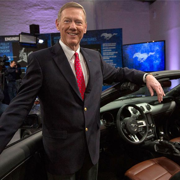 Ford Motor Co. CEO Alan Mulally.