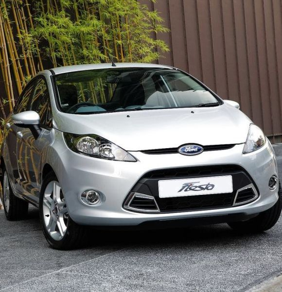 Refreshed Ford Fiesta.