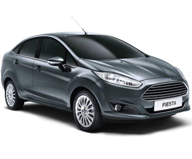 New Ford Fiesta.