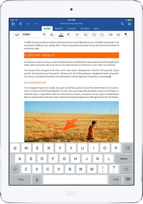 Microsoft Office for iPad: Hit or mis