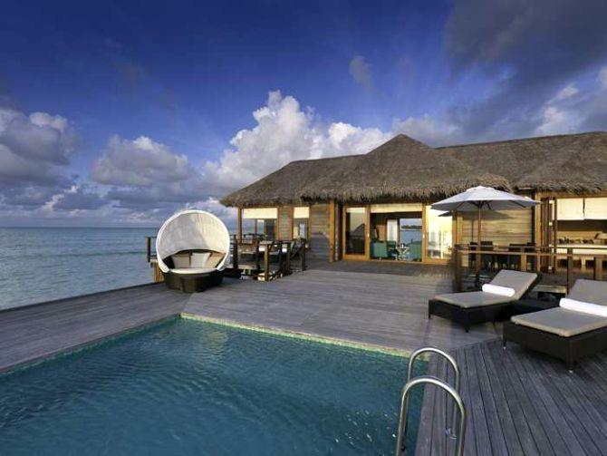 Conrad Maldives.