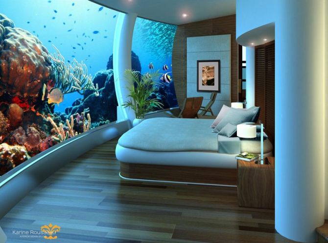 Poseidon Undersea Resort.