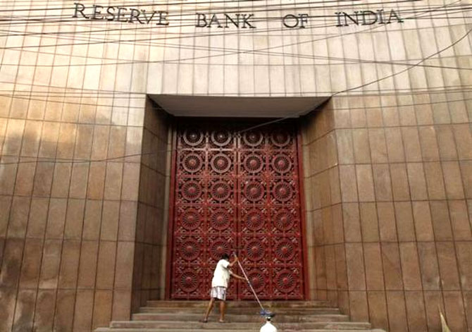 RBI is building the reserves.