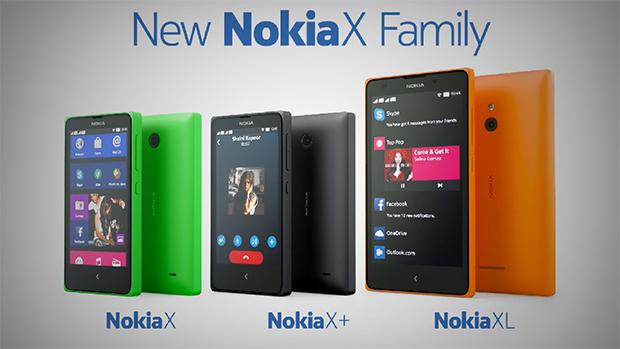 Nokia X family.