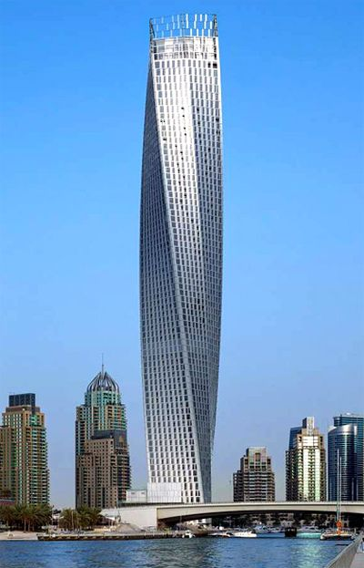 Cayan Tower.