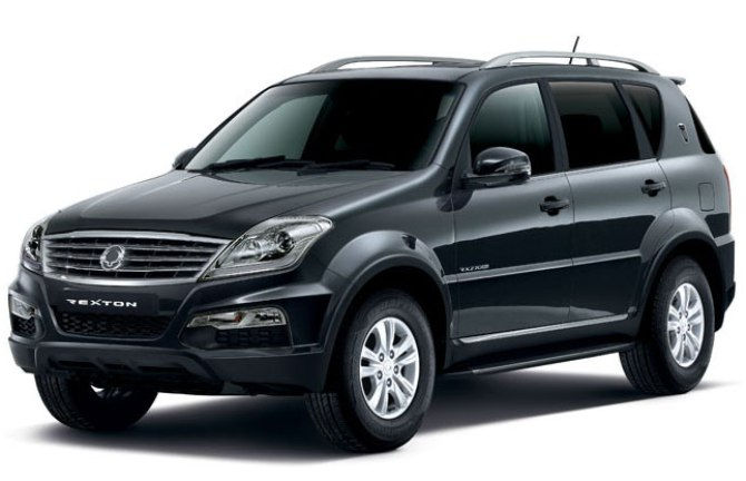 The SsangYong Rexton is currently available in two models -- RX5 and RX7.