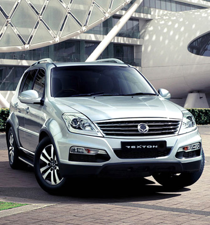 The new variant of SsangYong Rexton.