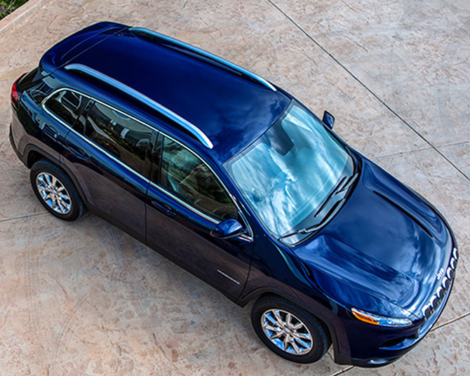 Jeep Cherokee is the perfect combination of natural good looks, capability, safety and security.