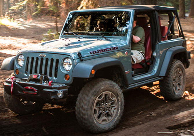 Jeep Wrangler lets you live wide open.