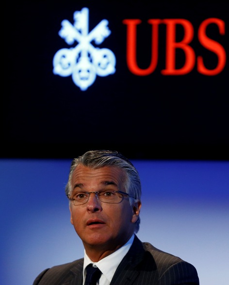 Swiss bank UBS CEO Sergio Ermotti addresses a news conference to present the company's results of the first quarter in Zurich May 6, 2014.