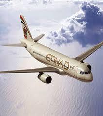 An Etihad aircraft