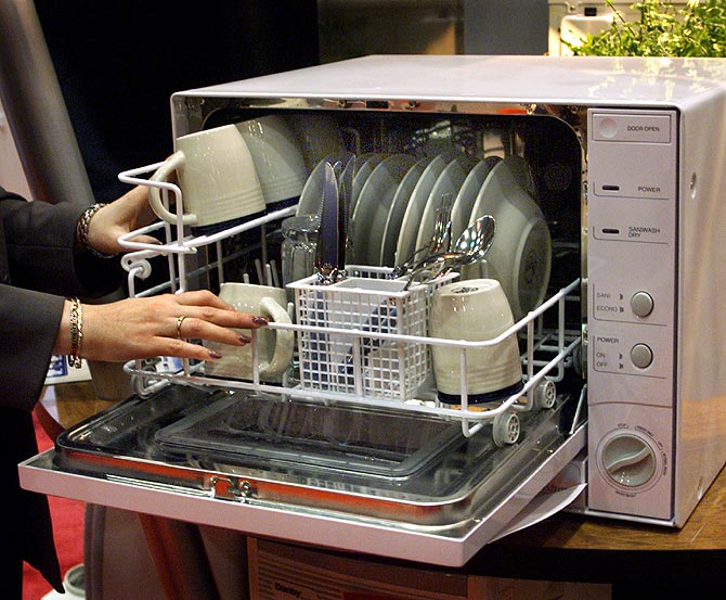 Josephine Cochranemade invented the dishwasher in 1886.