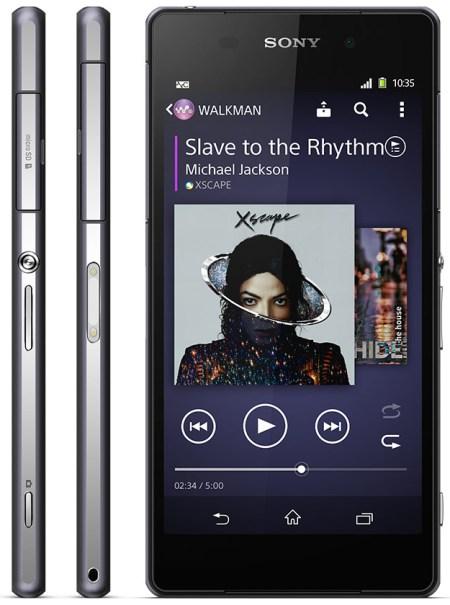 Sony's Xperia Z2.