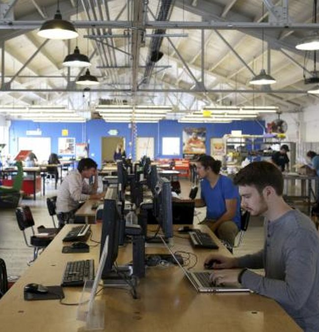 Inventors are working on various  projects at Silicon Valley.